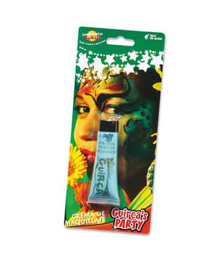 Blauwglitter make-up tube 20 cc.
