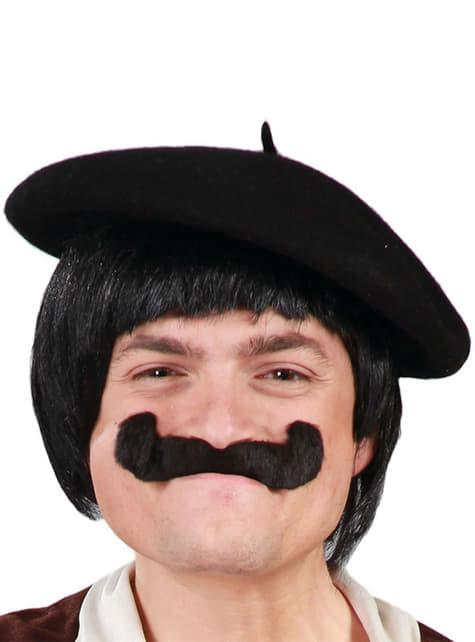 Klasična crna beretka