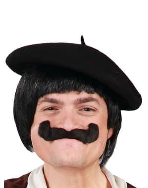 Classic black beret