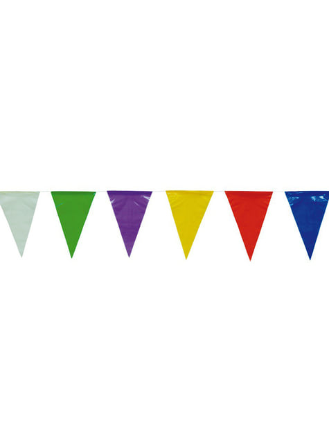 Banderines de colores 50 metros