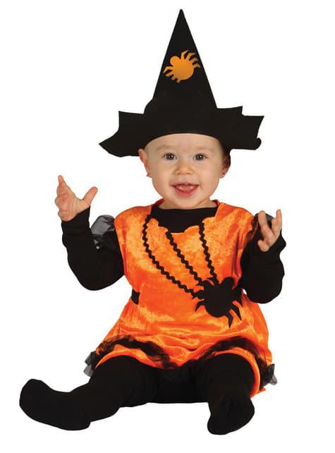 Disfraz de Bruja Calabaza para bebé