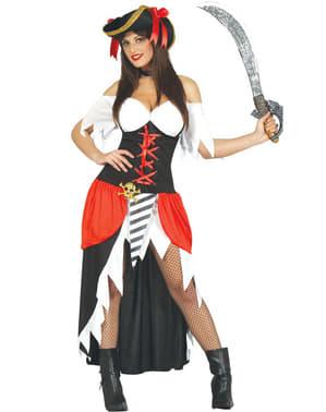 Sexy pirat kostyme til dame