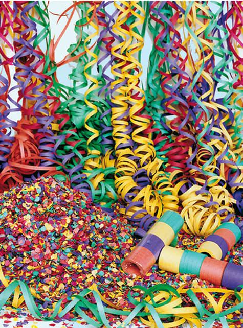 20 Party Luftschlangenrollen