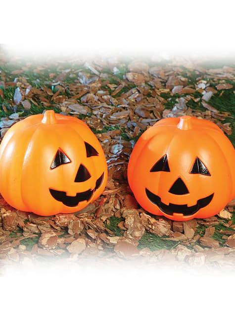 Halloween Pompoen.Verlicht Halloween Pompoen