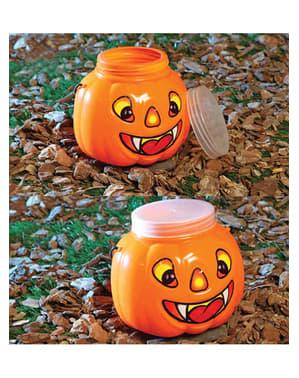 15cm Pumpkin Tub with Top