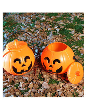 17 cm Pumpkin Tub with Top