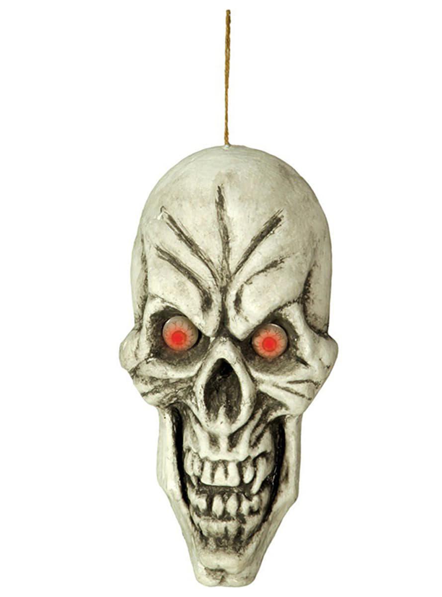 Zucca di Halloween Luminosa da Parete di 30 cm