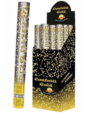 40cm Metallic Confetti Cannon