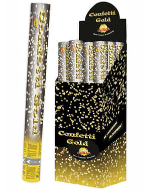 Tun de Confetti Metalic 40 cm.