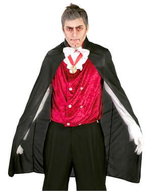 Capa de Vampiro negra 110 cm.