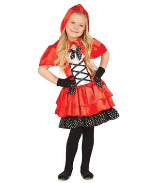 Disfraz de Caperucita Feroz para niña
