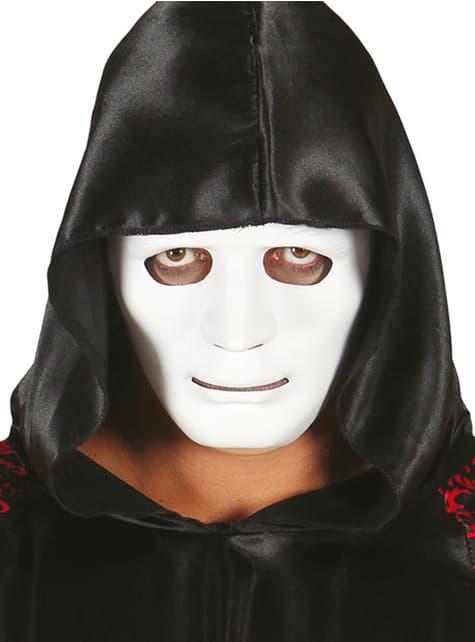 Máscara Lisa Blanca