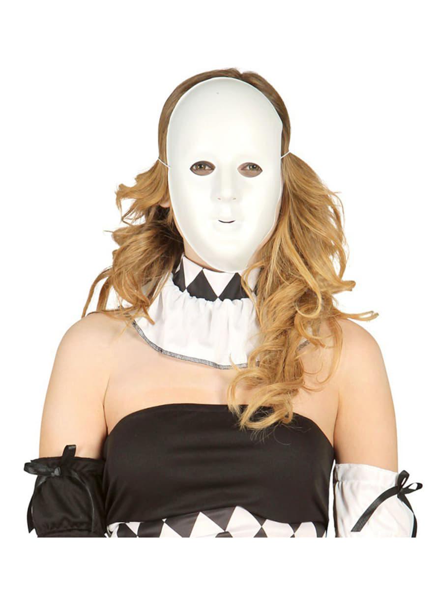 Masque blanc pour d corer for Decorer un masque blanc