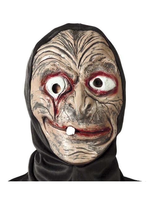 Hexen Maske mit Kapuze