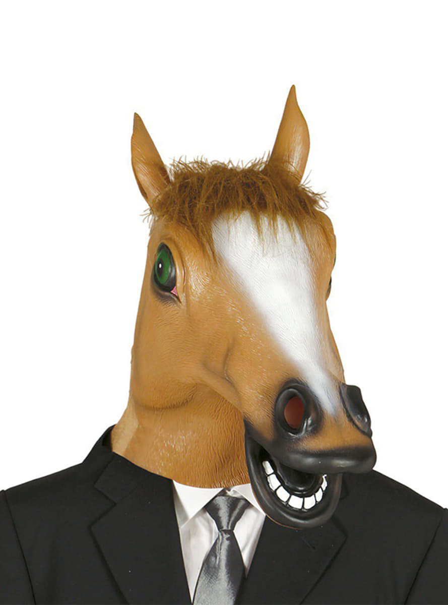 horse mask  express delivery