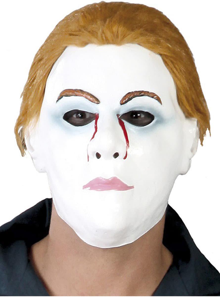 michael mike maske mit haar f r kost m funidelia. Black Bedroom Furniture Sets. Home Design Ideas