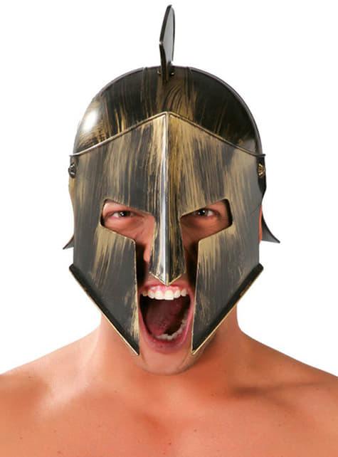 Spartaner Helm mit Kamm