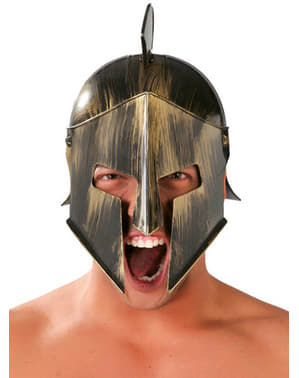 Спартанський шолом з гребінцем