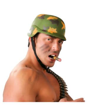 Militär krigshjälm