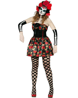 Costum Catrina Mexicană pentru femeie
