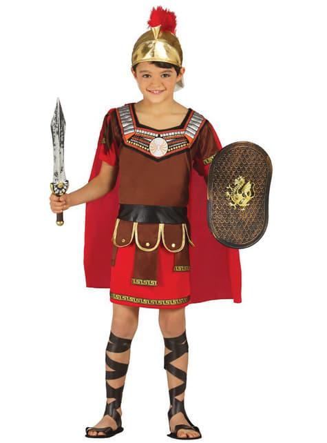 Romansk centurionudklædning til børn