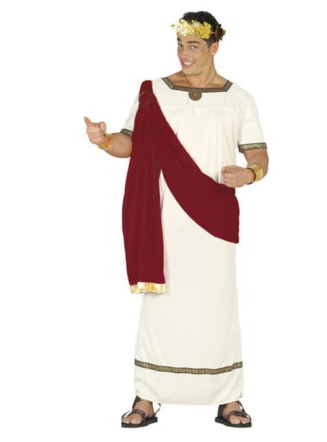 Férfi Augustus császár jelmez
