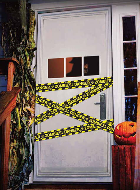Polizei Absperrband Danger Zombies