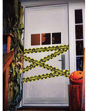 Polis avspärrningsband Danger Zombies