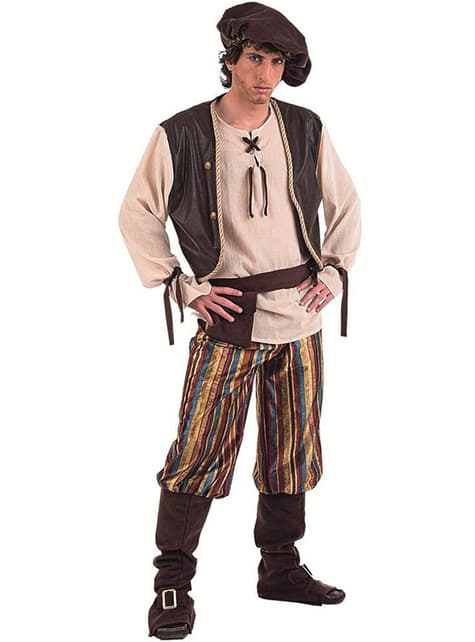 Vestito medievale uomo