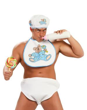 Kit de acessórios Baby azul para homem