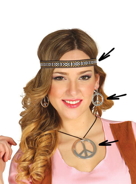Kit Accessori da Hippie da donna