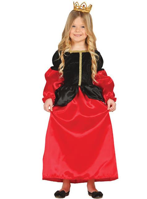 Middeleeuws Hofdame kostuum voor meisjes