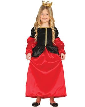 Mittelalterliche Dame Kostüm für Mädchen Classic