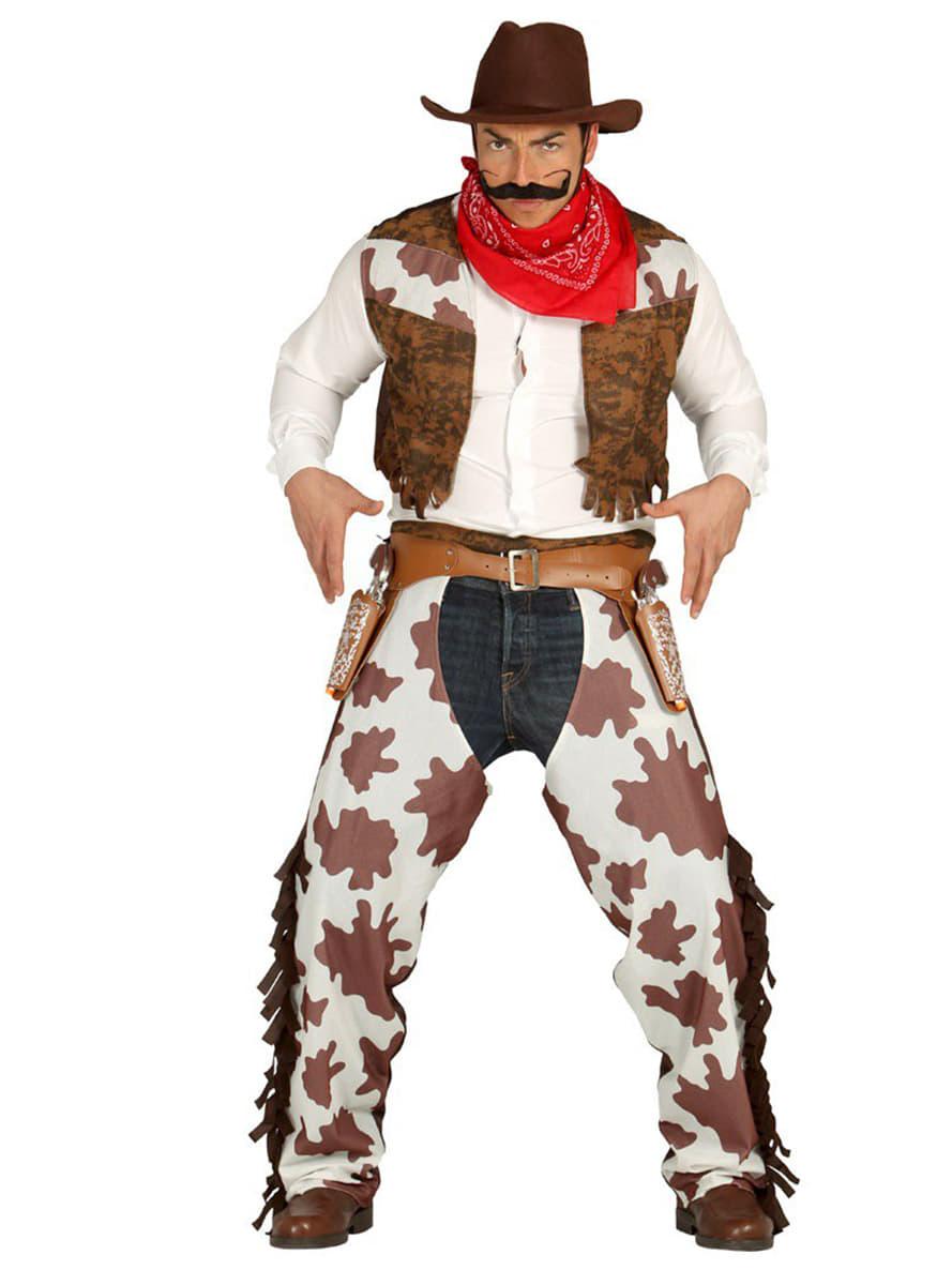 cowboy rodeo kost m f r herren funidelia. Black Bedroom Furniture Sets. Home Design Ideas