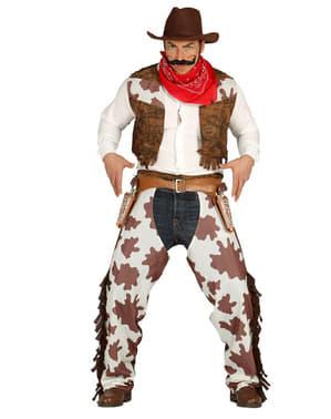 Fato de Cow Boy Rodeio para homem