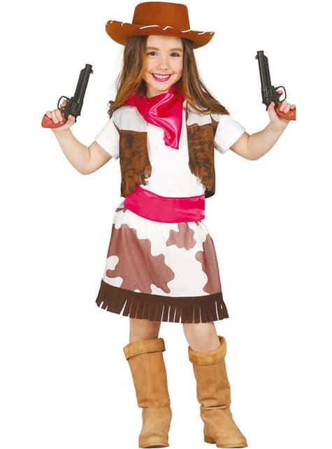 Disfraz de Cow Girl Rodeo para niña