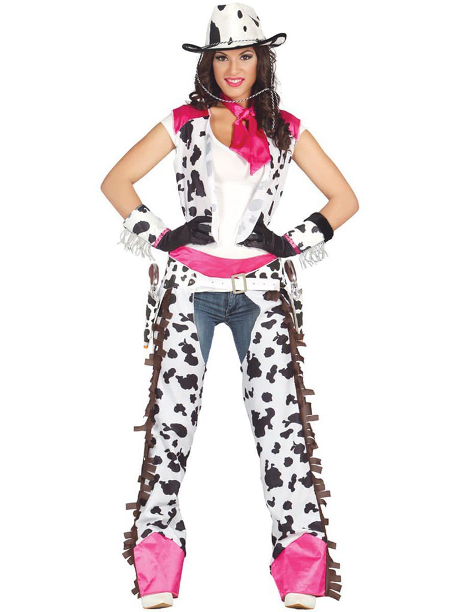 Fato de Cow Girl Rodeio para mulher 3e456fbf1c8