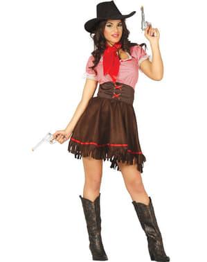 Cowgirl kostume til kvinder