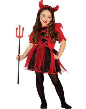 Jente Rampete She Devil kostyme