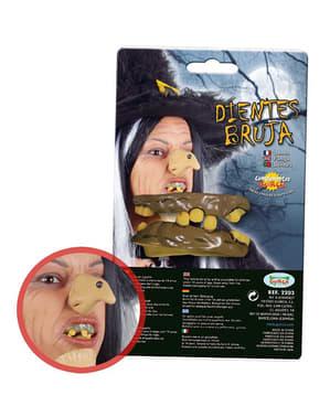 Denti finti da strega