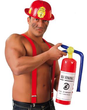 Opblaasbare blusser brandweer