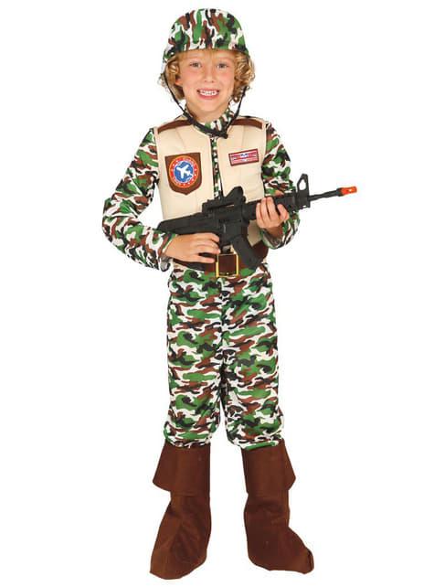 Disfraz Fuerzas Especiales EE.UU. Infantil