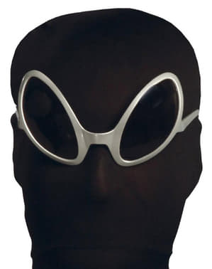 Gafas de Alienígena Plateadas