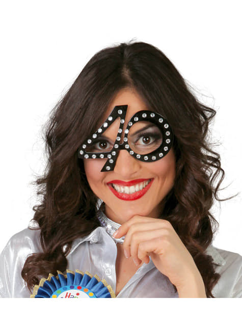 Óculos de Aniversário 40