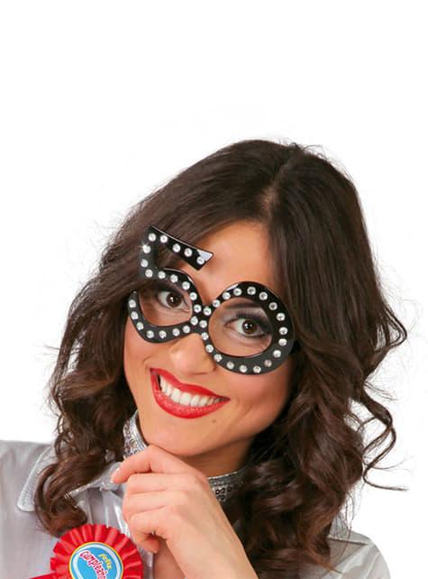 50e verjaardag bril