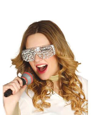 Поп-зірка леді окуляри