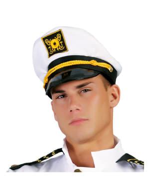 Jachtschiffskapitän Mütze