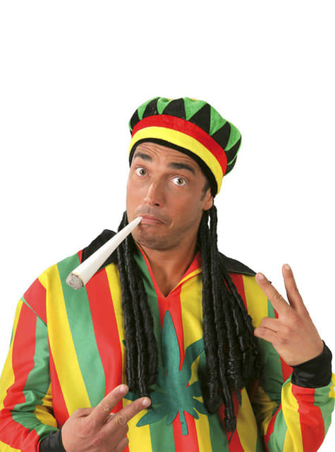 Jamaikai Kalap Raszta Hajjal