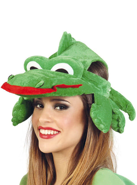 Crocodile Hood Hat