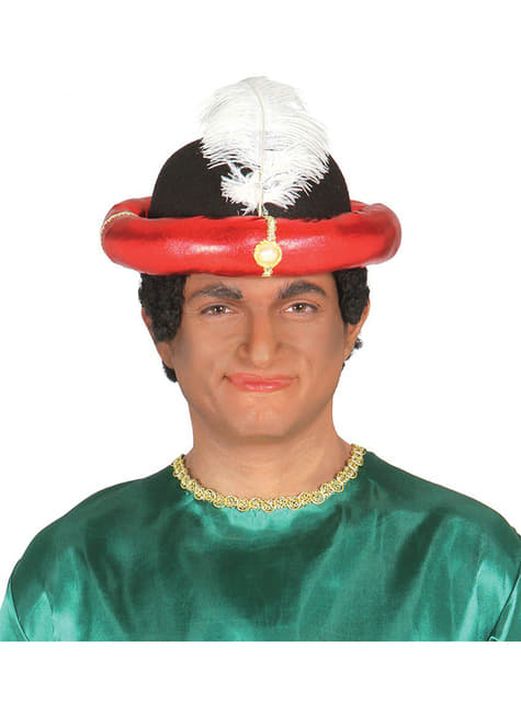 Red Maharajah Hat